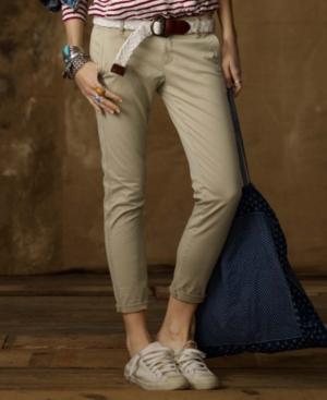 Denim & Supply Ralph Lauren Pants, Skinny Leg Ankle Stretch