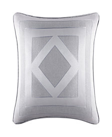 "Five Queens Court Kennedy 20"" Square Pillow"