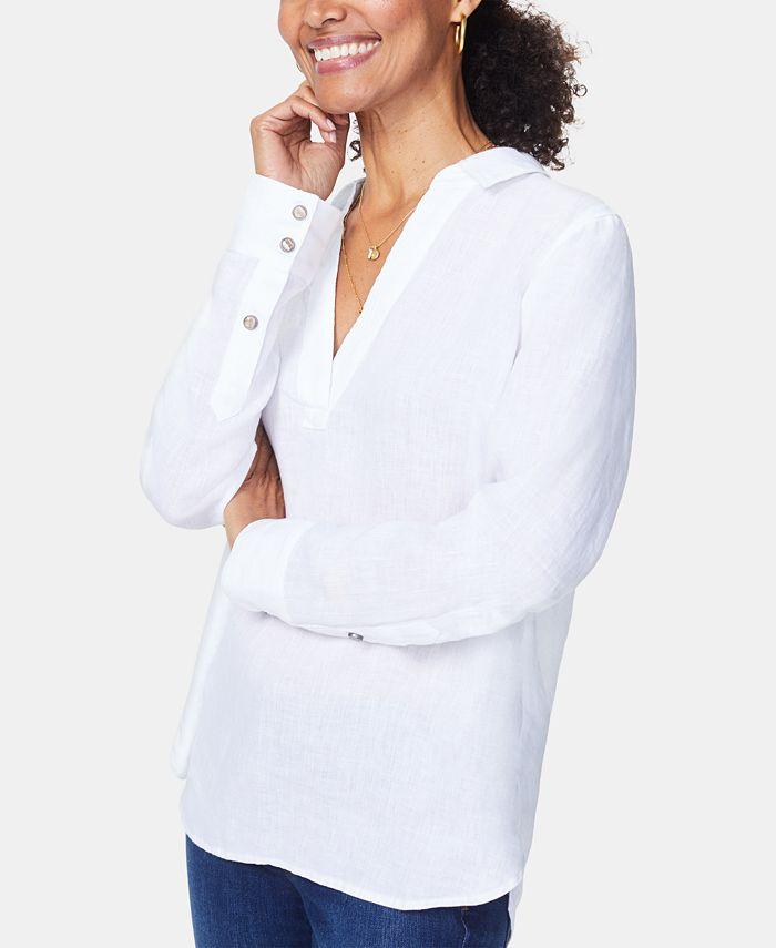 NYDJ - Linen High-Low Tunic
