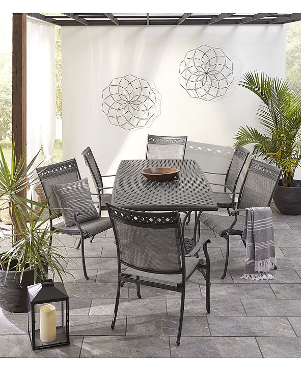 Furniture Vintage II Outdoor Sling Chair Dining Collection, Created for Macy's