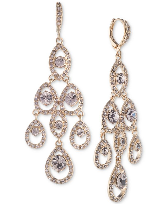 Givenchy - Crystal Chandelier Earrings