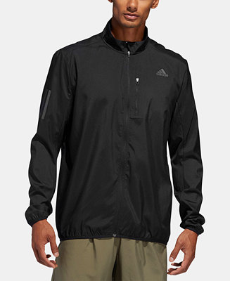 actualizar Bailarín mariposa  adidas Men's Water-Repellent Running Jacket & Reviews - Coats & Jackets -  Men - Macy's