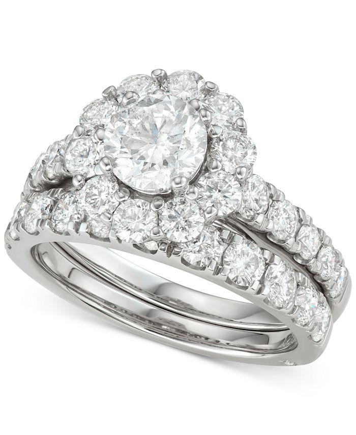 Marchesa - Certified Diamond Bridal Set (3 ct. t.w.) in 18k Gold