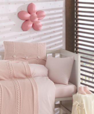 Heritage Natural Cotton Crib Bedding Set 5 Piece