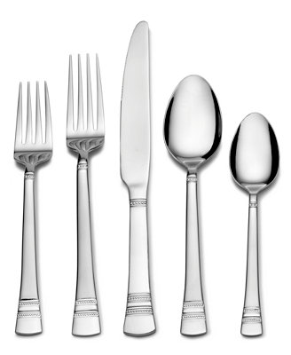 International Silver Flatware, Kensington 53 Piece Set - Flatware ...