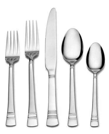 International Silver Flatware, Kensington 53 Piece Set - Flatware ...