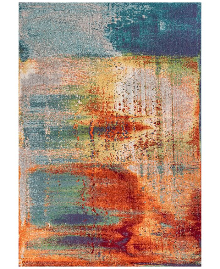 "Kas - Illusions Luminous 6204 Multi 3'3"" x 4'11"" Area Rug"
