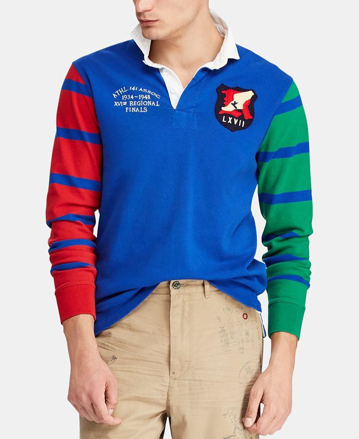 Polo Ralph Lauren Men's Jersey Rugby Shirt & Reviews - Polos - Men ...