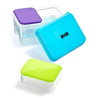 Deals on Art & Cook 4-Pc. Lunch Container Set with Ice Pack