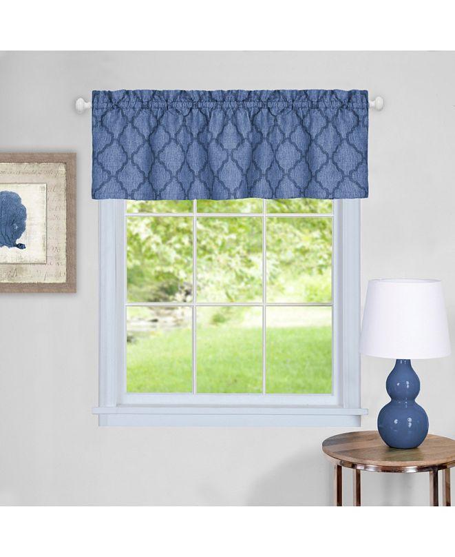 Achim Colby Window Curtain Valance, 58x14