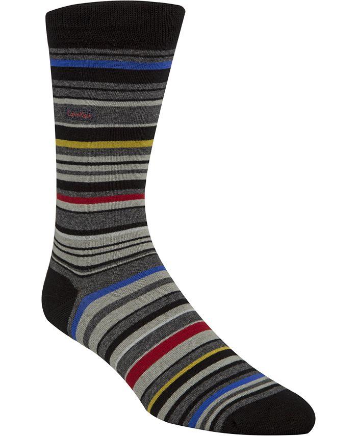 Calvin Klein - Striped Crew Socks