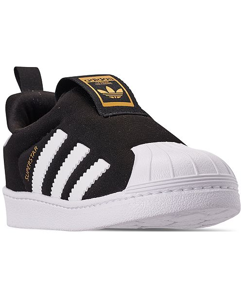 Cañón impuesto Experimentar  adidas Toddler Superstar 360 Slip-on Casual Sneakers from Finish Line &  Reviews - Finish Line Athletic Shoes - Kids - Macy's