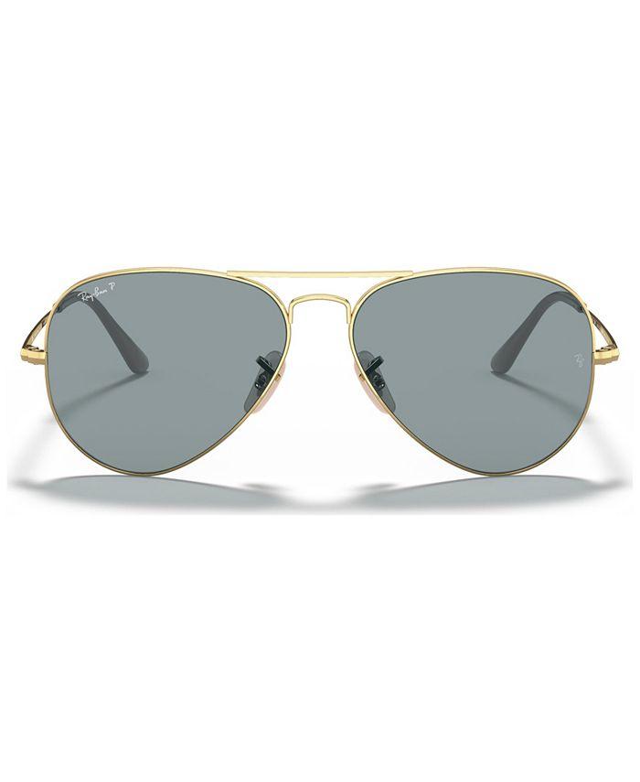 Ray-Ban - Polarized Sunglasses, RB3689 58