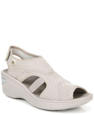 Bzees Dream Washable Wedge Sandals