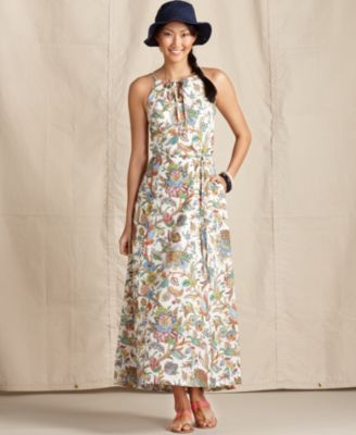 Tommy Hilfiger Dress Sleeveless Floral Maxi