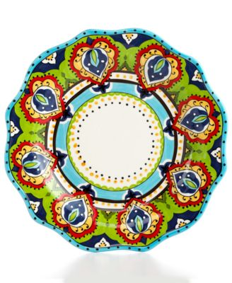 Espana Bocca Scalloped Dinner Plate