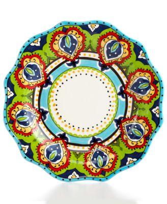 Espana Bocca Scalloped Dinner Plate