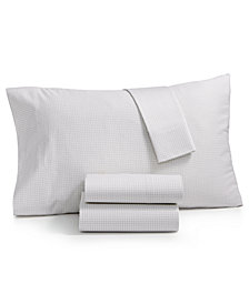 Charter Club Damask Designs Wovenblock Supima Cotton 550 Thread Count King Pillowcase Pair, Created for Macy's