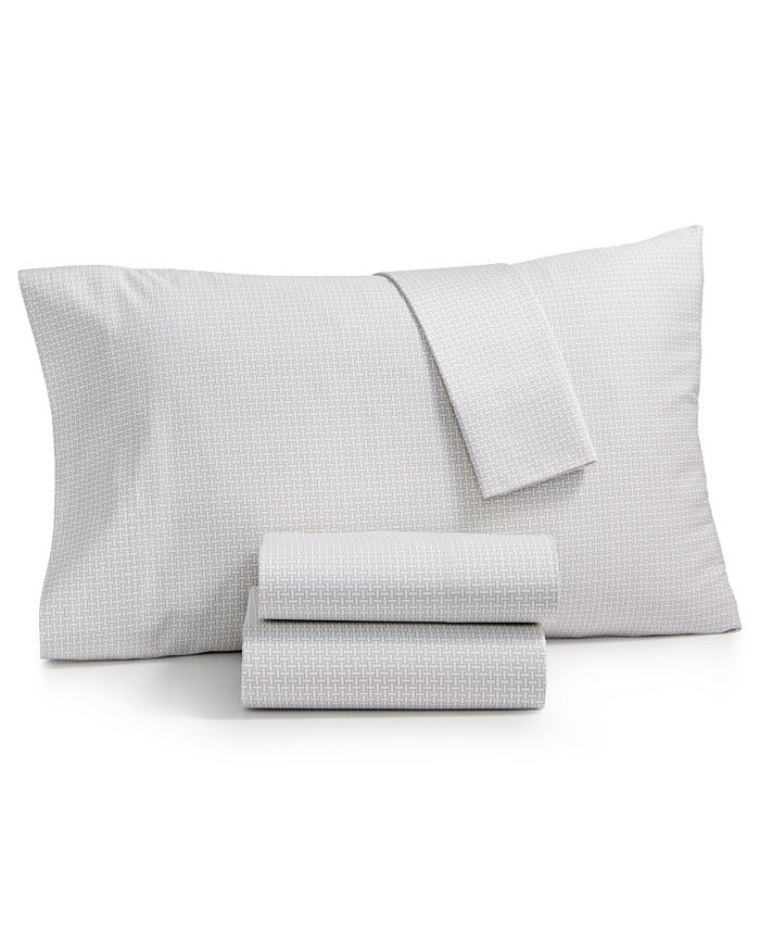 Charter Club - Damask Designs Wovenblock Cotton 550 Thread Count King Pillowcase Pair