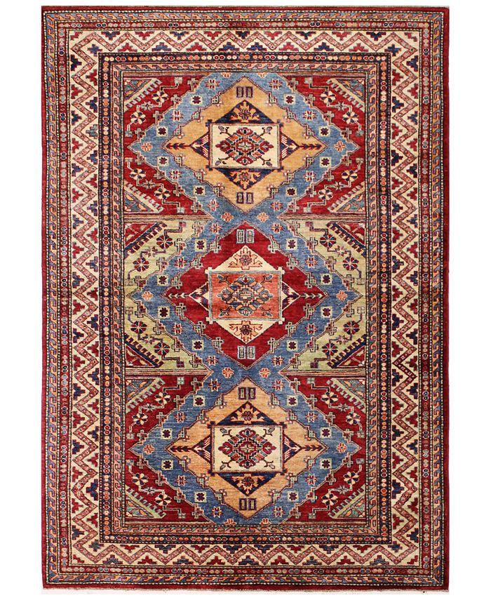 """BB Rugs - Fine Kazak 610744 Multicolor 4'9"""" x 7'1"""" Area Rug"""