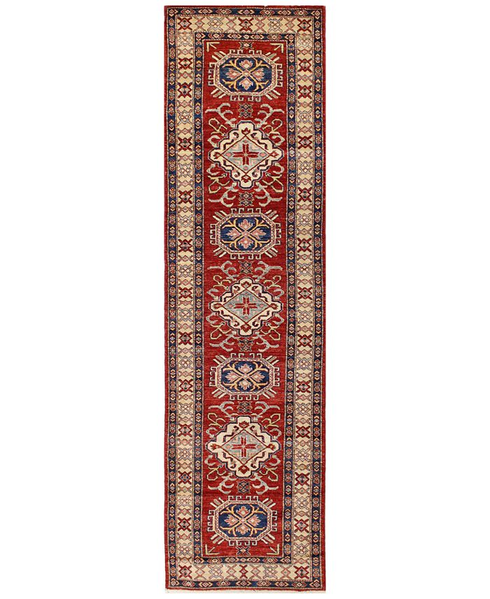 "BB Rugs - Fine Kazak 595236 Red 2'9"" x 10'8"" Runner Area Rug"