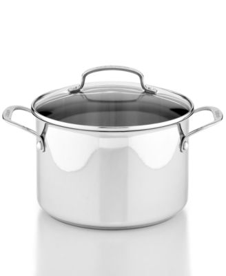 Cuisinart Stainless Steel 5.75 Qt. Covered Stockpot