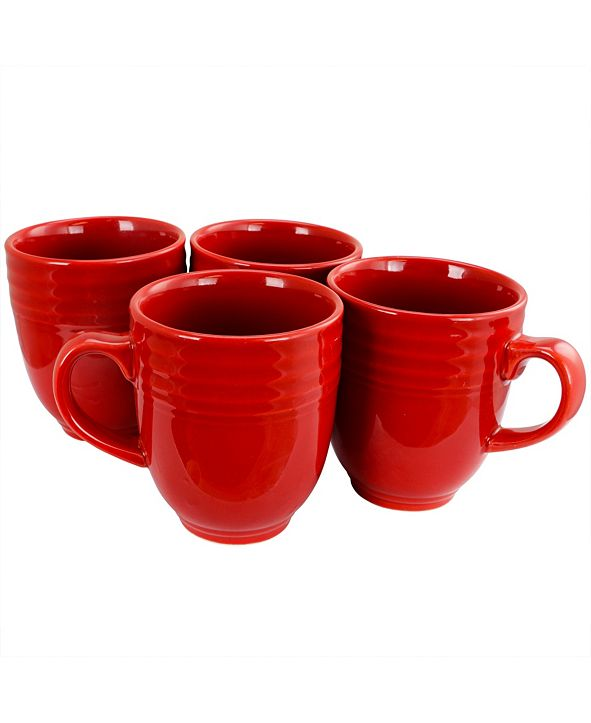 Plaza Cafe 15Ounce Mug, Set of 8