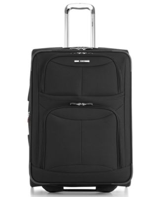 """CLOSEOUT! Delsey Fusion Lite 3.0 21"""" Rolling Carry On Suitcase"""
