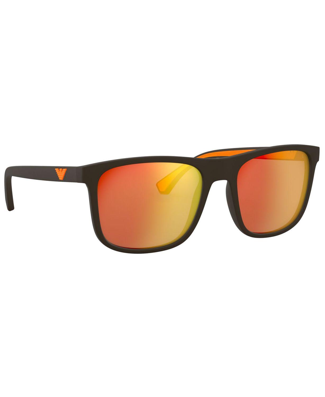 Emporio Armani Sunglasses, EA4129 56 & Reviews - Sunglasses by Sunglass Hut - Men - Macy's