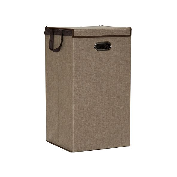Household Essentials Collapsible Single Laundry Hamper