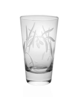 Olive Cooler Highball 15Oz - Set Of 4 Glasses