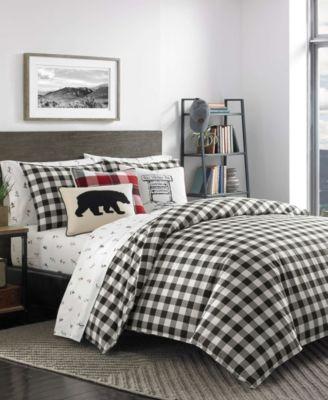 Mountain Plaid Comforter Set, Twin