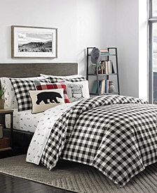 Eddie Bauer Mountain Plaid Comforter Set, King