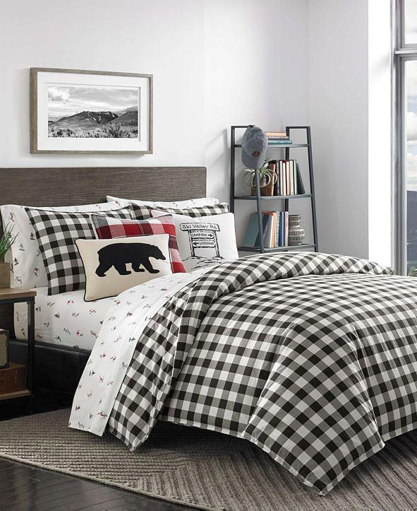Eddie Bauer Mountain Plaid Comforter Set, Full/Queen