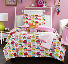 Chic Home Tasty Muffin 4 Piece Twin Comforter Set
