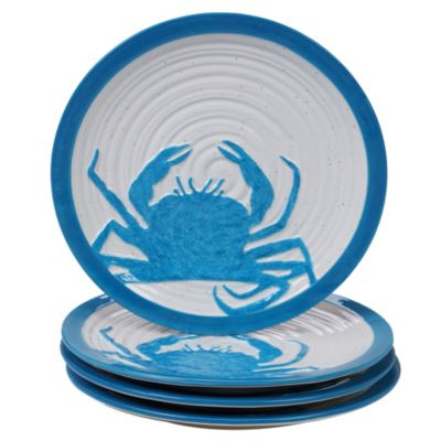 Natural Dessert Plates, Set of 4