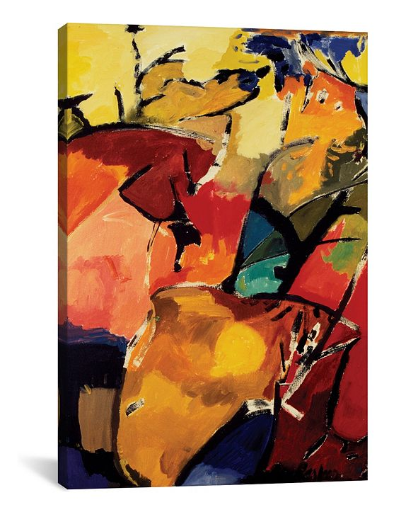 "iCanvas ""Ram"" By Kim Parker Gallery-Wrapped Canvas Print - 18"" x 12"" x 0.75"""