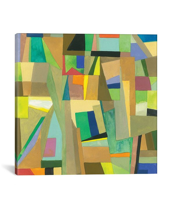 """iCanvas """"Amsterdam"""" By Kim Parker Gallery-Wrapped Canvas Print - 37"""" x 37"""" x 0.75"""""""