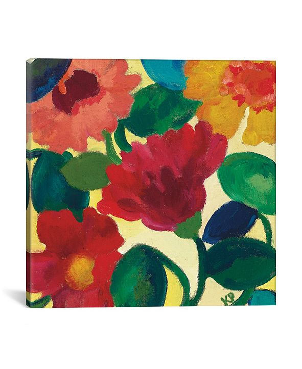 "iCanvas ""Ranunculus Ii"" By Kim Parker Gallery-Wrapped Canvas Print - 18"" x 18"" x 0.75"""