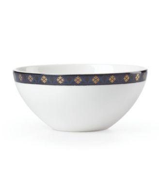 Global Tapestry Sapphire Spiro  Dip Bowl