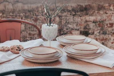 Potter Terracotta Melaboo 4-Pc. Salad Plate Set