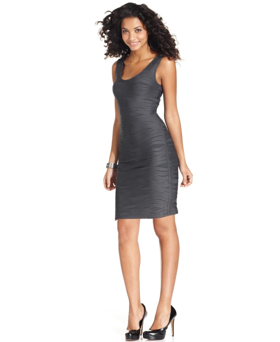 NY Collection Petite Dress, Sleeveless Scoop Neck Sheath
