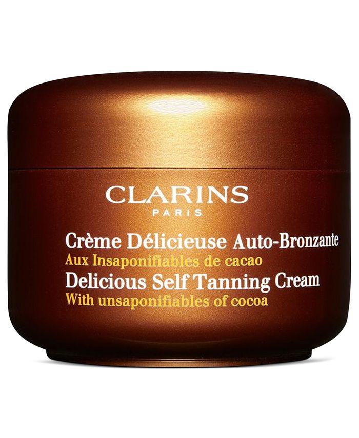 Clarins - Delicious Self Tanning Cream, 4.2 fl. oz