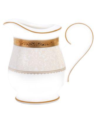 Noritake Dinnerware, Odessa Gold Creamer
