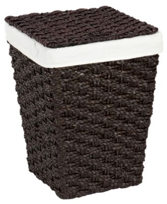 Creative Bath Hamper, Chunky Weave with Liner