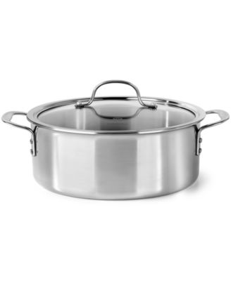 Calphalon Tri-Ply Stainless Steel 5 Qt. Covered Dutch Oven