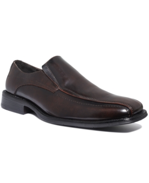 Alfani Ascher Bike Toe Slip-On Shoes Mens Shoes