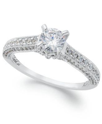 Artcarved Wedding Ring 73 Awesome Diamond Ring k White