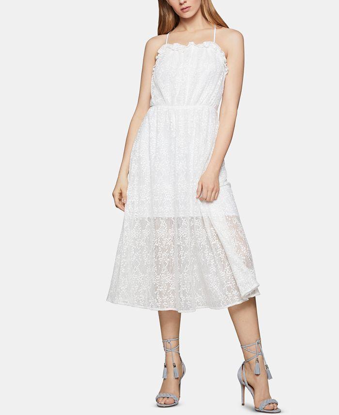BCBGeneration - Floral-Lace A-Line Dress