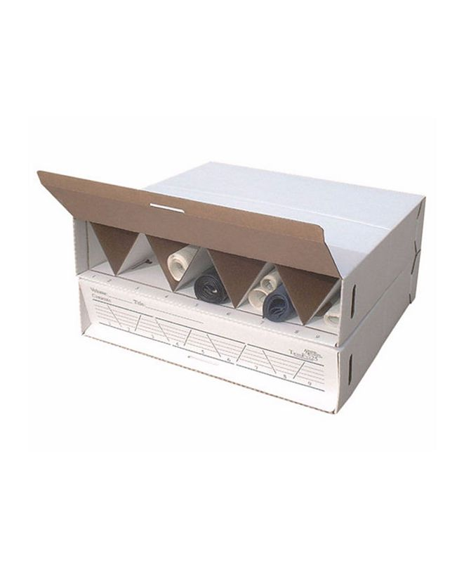 Offex Stockable Rolling Storage File